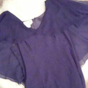 MORTON MYLES: Purple Butterfly dress